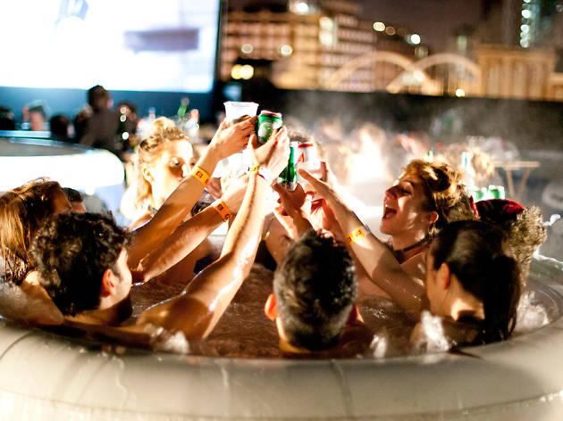 Hot Tub Cinema