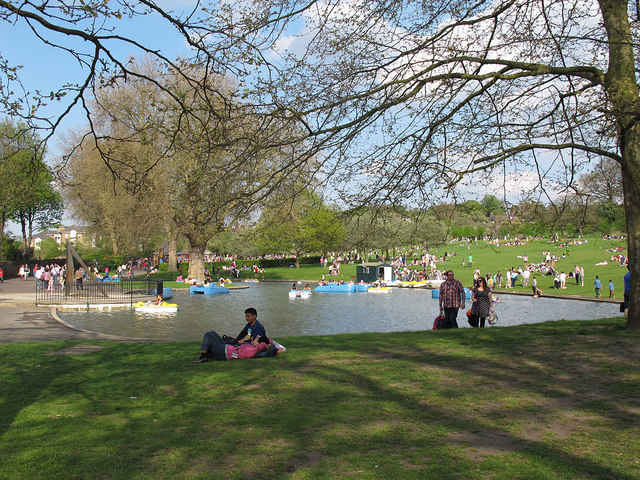 greenwich park boating lake