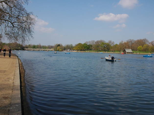 The Serpentine Boating Lake, Hyde Park