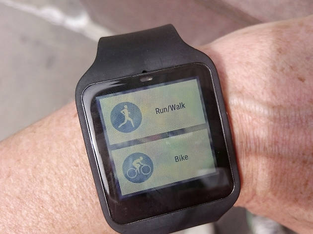 Lunges and Lycra: the Xperia Z3 SmartWatch