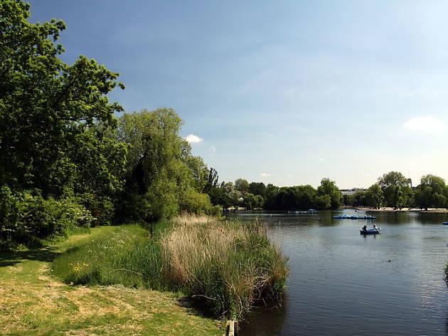 Boating Lake in Regent's Park