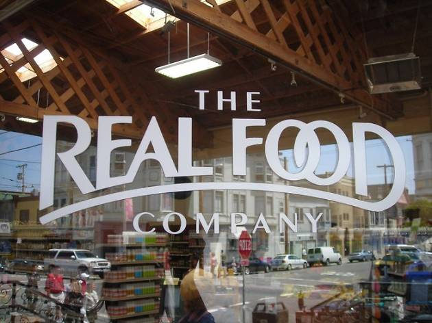 Real Food Company, one of San Francisco's best grocery stores