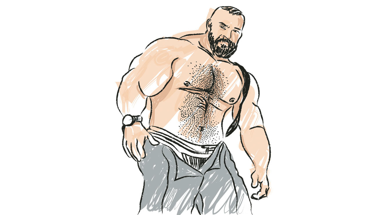 Osos musculoso, Muscle Bear