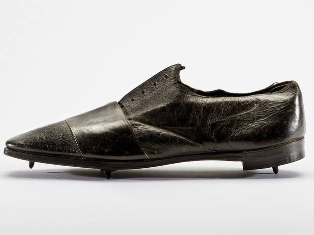 1860-65, Thomas Dutton and Thorowgood. Running Shoe. Northampton Museums and Art Gallery, Northampton, UK.