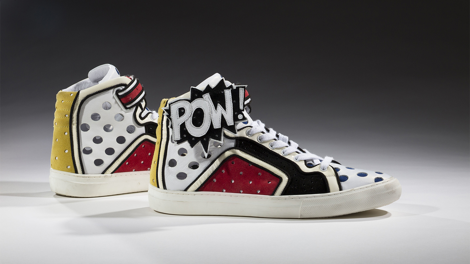 2011, Pierre Hardy. Poworama. Collection of the Bata Shoe Museum, Toronto; Gift of Pierre Hardy.