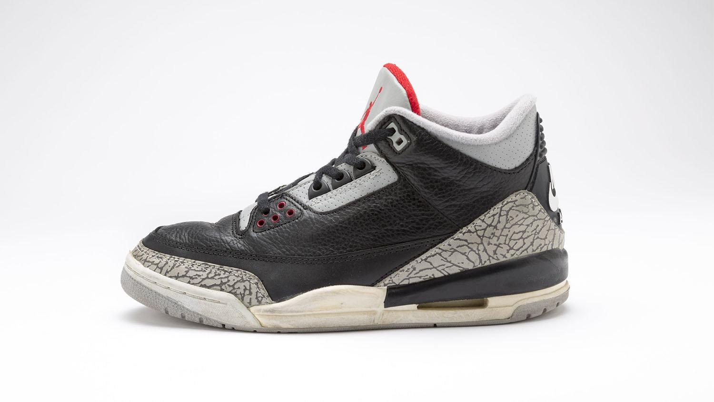 1988, Nike. Air Jordan III. Kosow Sneaker Museum (Electric Purple Chameleon, LLC).