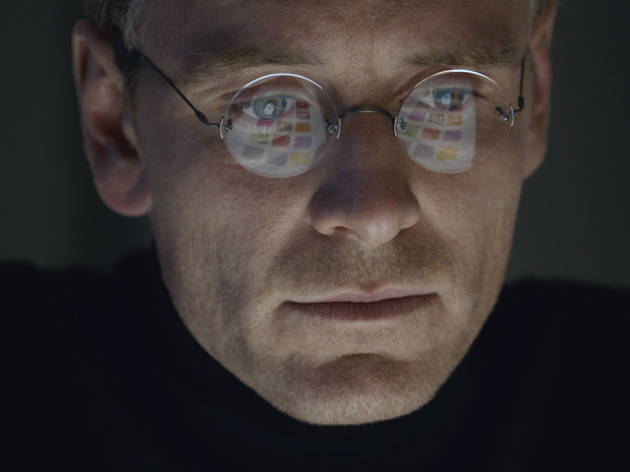 Michael Fassbender en Steve Jobs