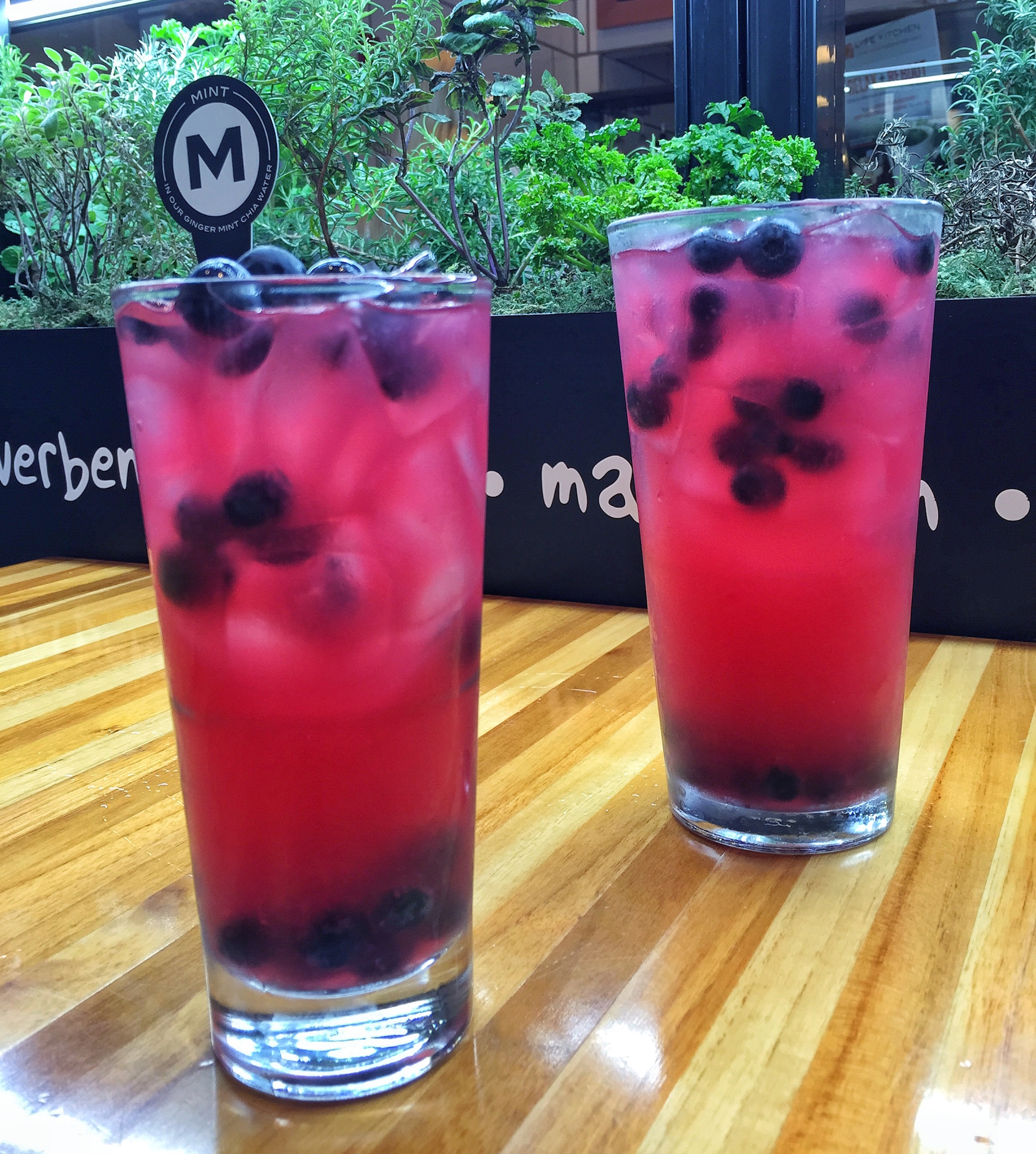 The Patriotic drink at LYFE Kitchen