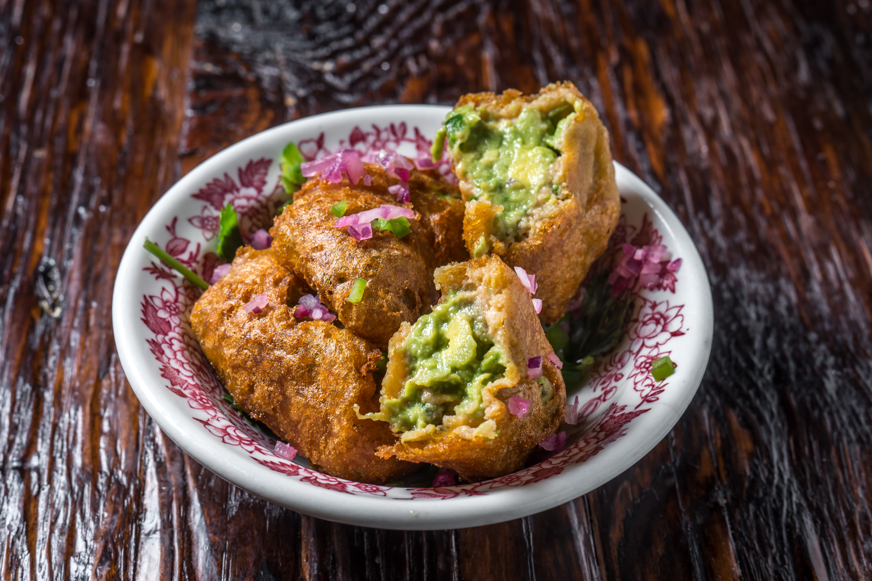 ABAJO fried guacamole