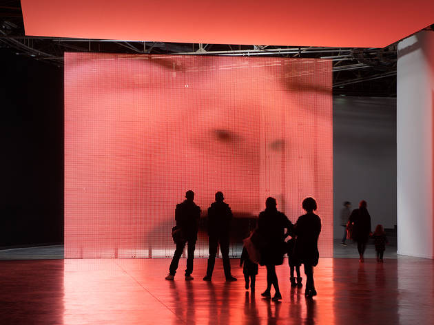 Philippe Parreno, Exhibition view, Philippe Parreno, Anywhere, Anywhere, Out Of The World, Palais de Tokyo, 2013.
