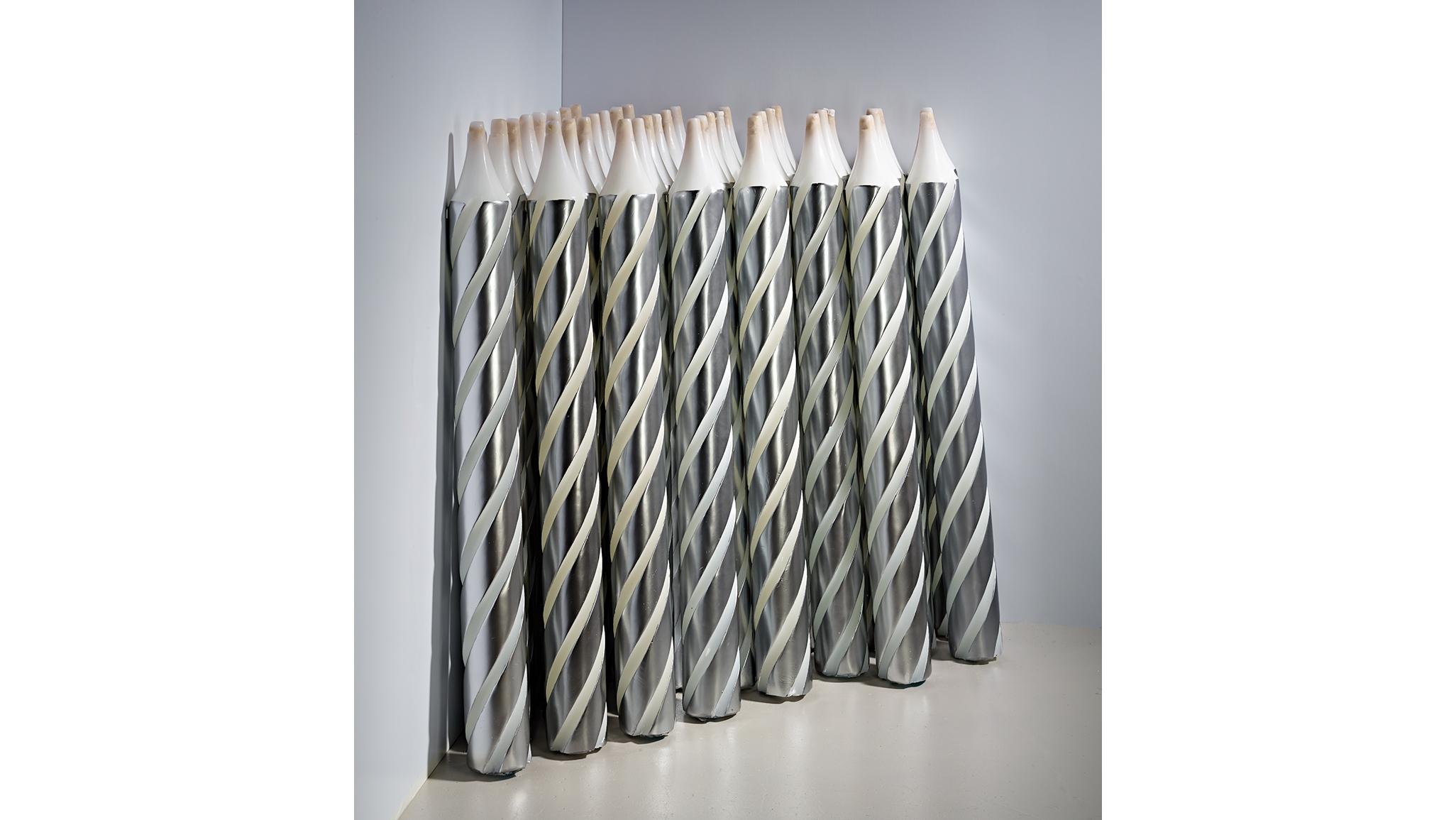Philippe Parreno, Candles (Interior Cartoons), 2012