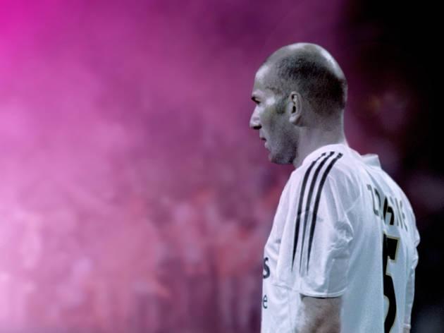 Philippe Parreno with Douglas Gordon,Still from Zidane: A 21st Century Portrait, 2006