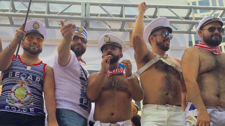Bears, osos, bearmex, marcha LGBTTTI, GAY