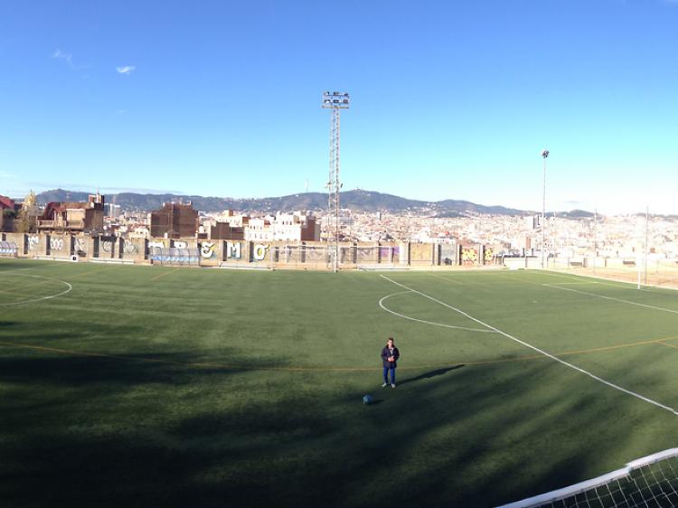 Camp de futbol municipal de La Satalia