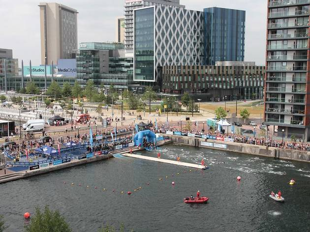Make a splash with open water swimming in and around - The quays swimming pool timetable ...