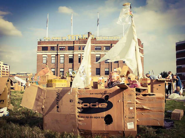 Photo of The Den Building Festival at The Tetley
