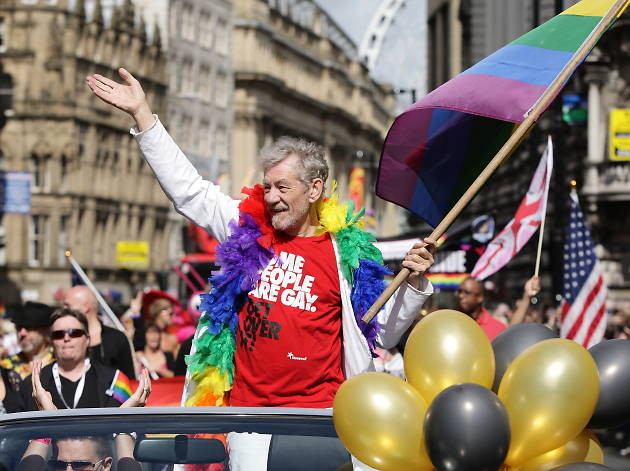 Sir Ian McKellen to lead Manchester Pride parade