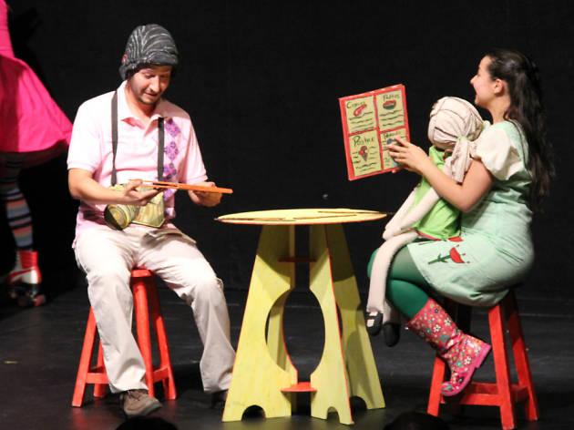 Hola y chau, papá, una obra de teatro para niños