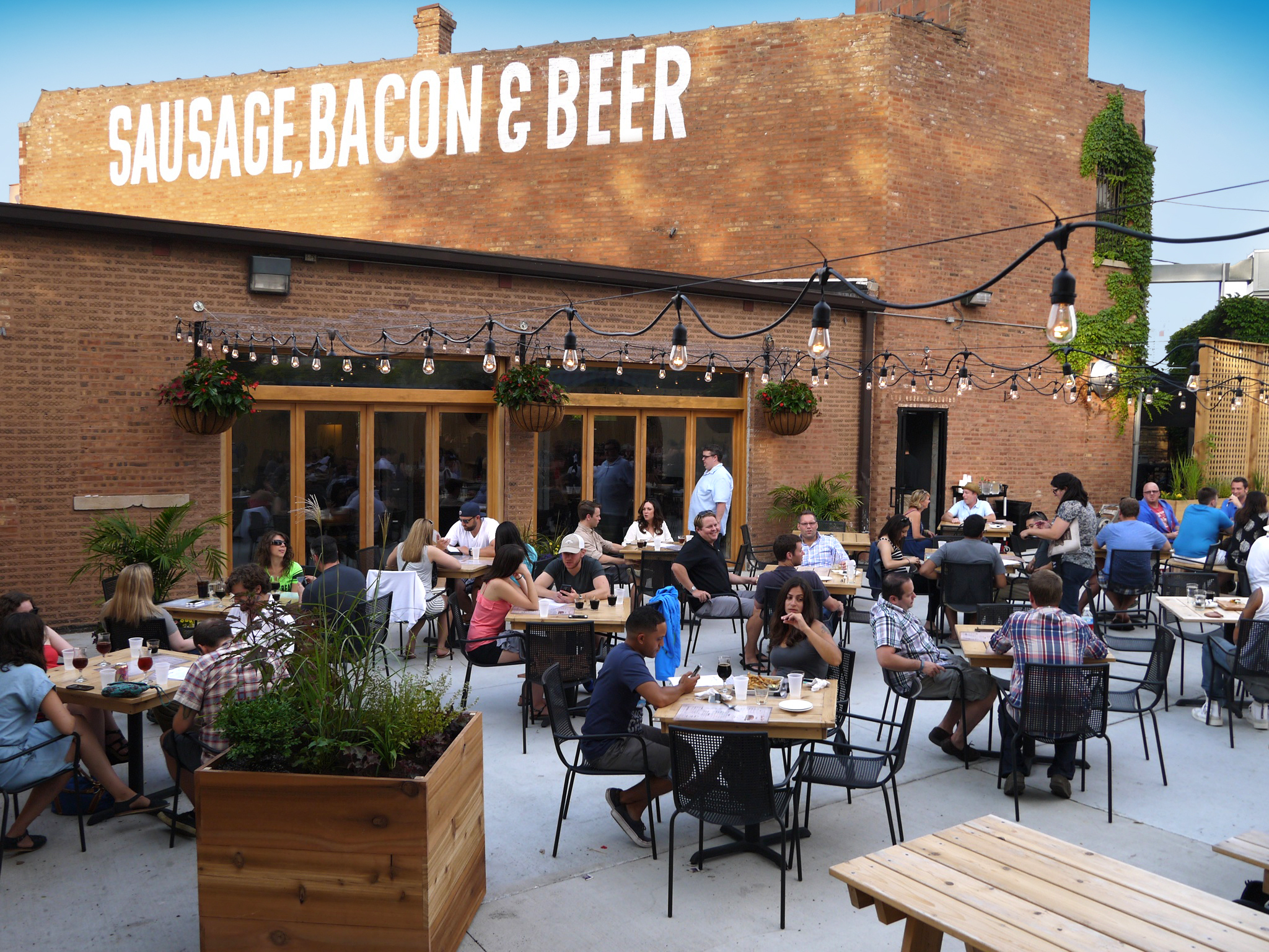 Kaiser Tiger is a beer garden in the West Loop.