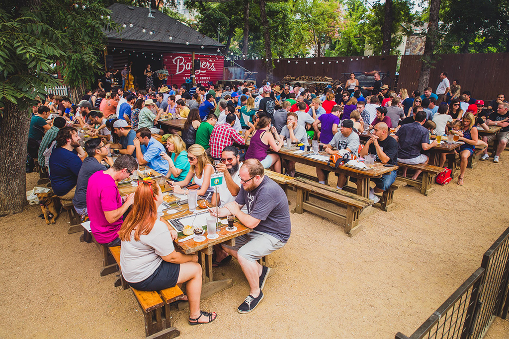 Banger's Sausage House  Beer Garden