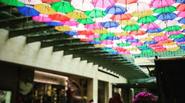 El centro comercial Antara tiene tiendas de lujo.