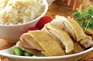 Hainanese Chicken Rice at MELT