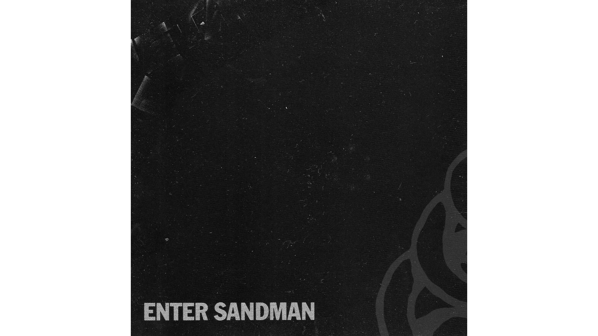 metallica, enter sandman