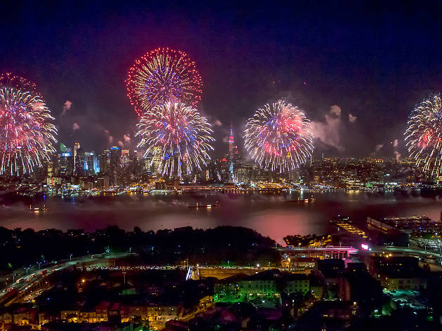 NYC gets patriotic