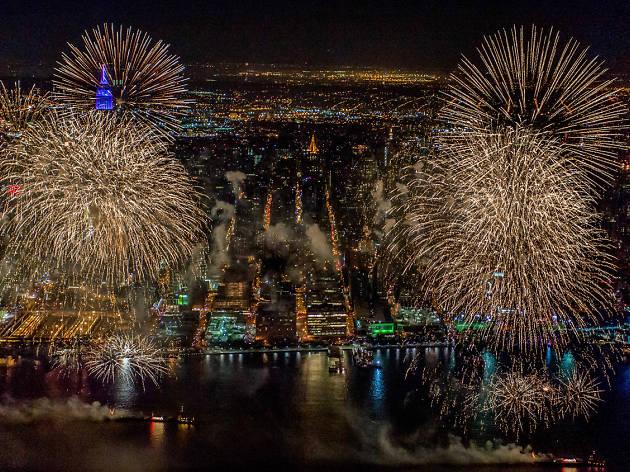 So many fireworks, still so impressed