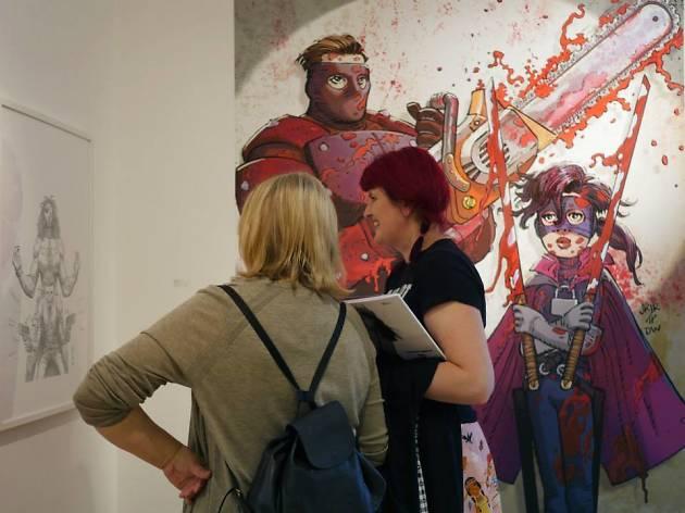comic art millarworld