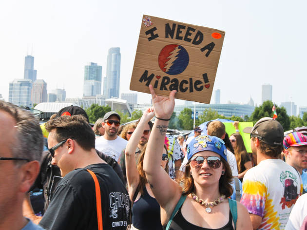 The Grateful Dead said farewell at Soldier Field