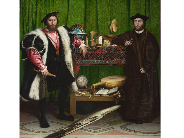 'The Ambassadors' (1533) by Hans Holbein the Younger.