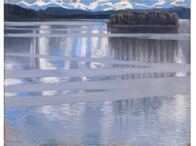 Chris Watson – 'Lake Keitele' by Akseli Gallen-Kallela