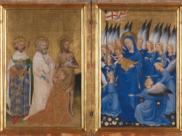 'The Wilton Diptych' (1395-99)