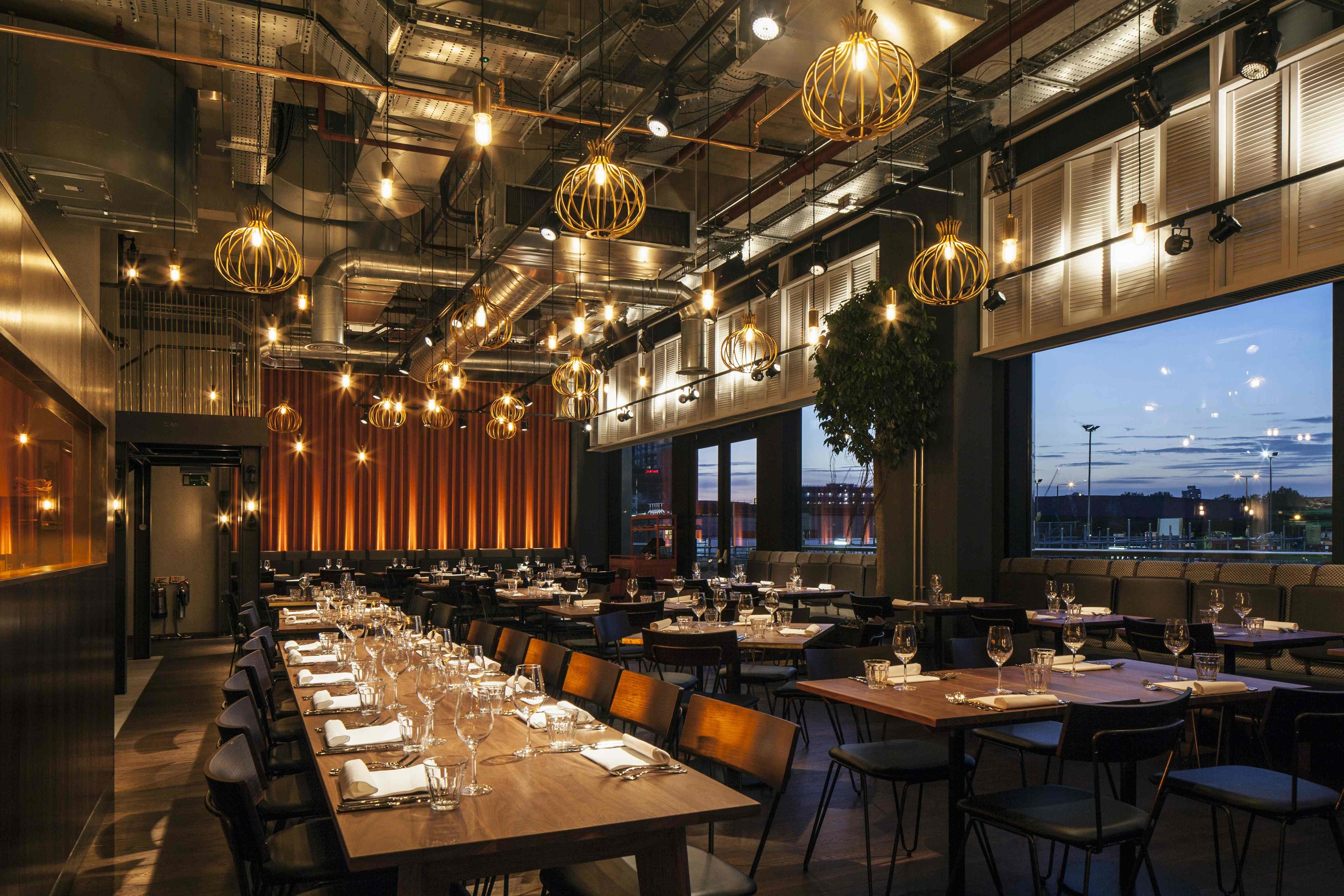 Chai ki restaurants in canary wharf london for Hotel design canaries