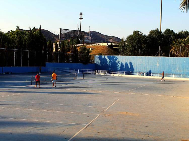 Tennis al Parc de la Trinitat Vella