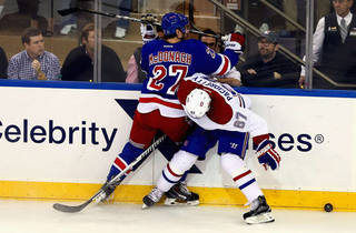 A New York Rangers game