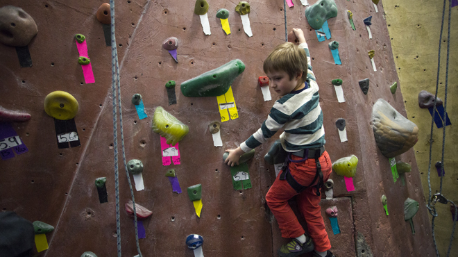 Best for adventurers: Brooklyn Boulders