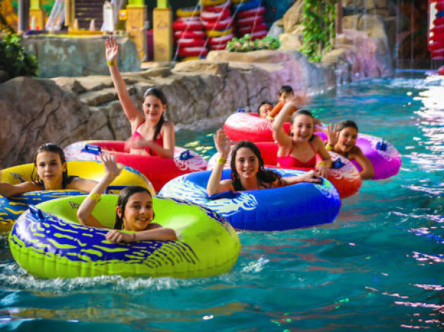 (Photograph: Courtesy of Sahara Sam's Oasis Water Park)