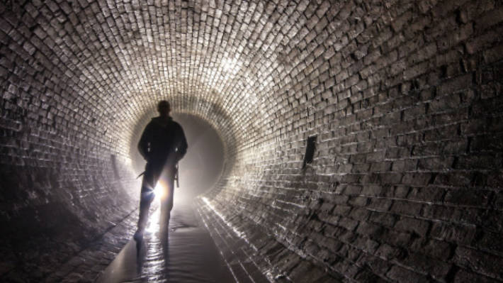 Get down and dirty on a sewer tour in Brighton