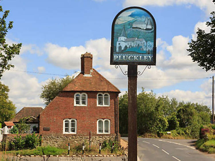 Stand the chance of a ghost in Pluckley