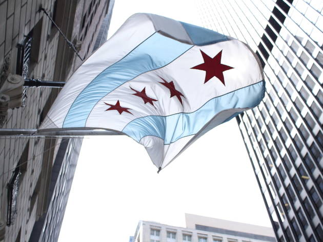 Why the Chicago Flag has a spectacular design