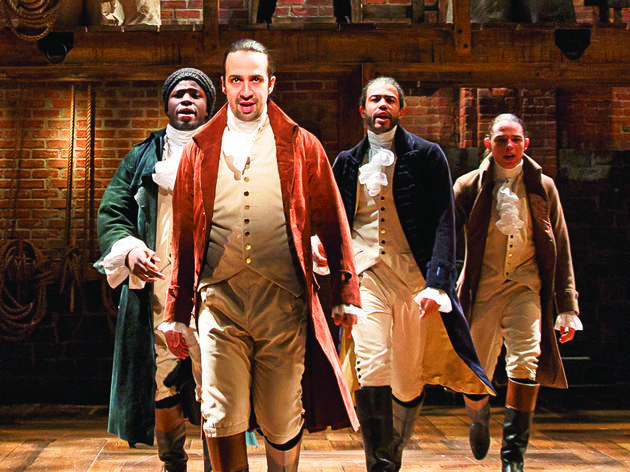 An exhibition devoted to 'Hamilton' will open in Chicago this fall