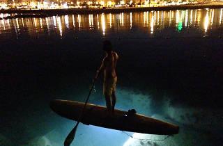 Night Leds Paddle Surf, Surf House Barcelona