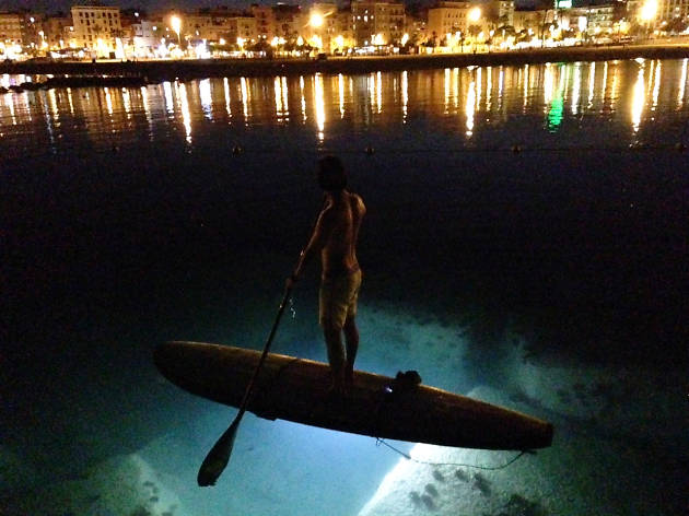 Night Leds Paddle Surf, Surf House Barcelona