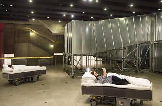 Carsten Höller Two Roaming Beds (Grey), 2015 Courtesy of the artist. Photo: David Levene