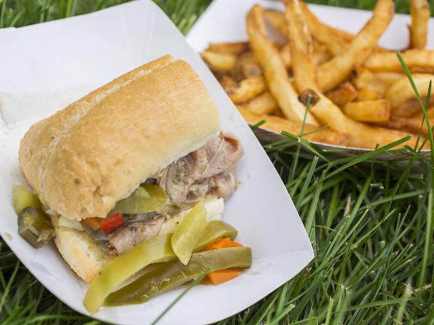 Italian Beef Sandwich from Emerald Isle