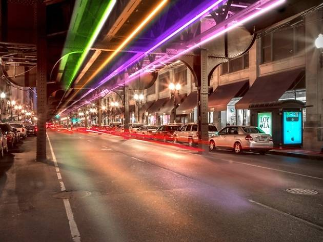 Rendering of The Wabash Lights
