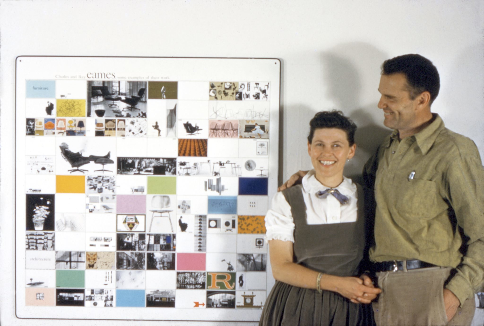 the world of charles and ray eames art in london. Black Bedroom Furniture Sets. Home Design Ideas