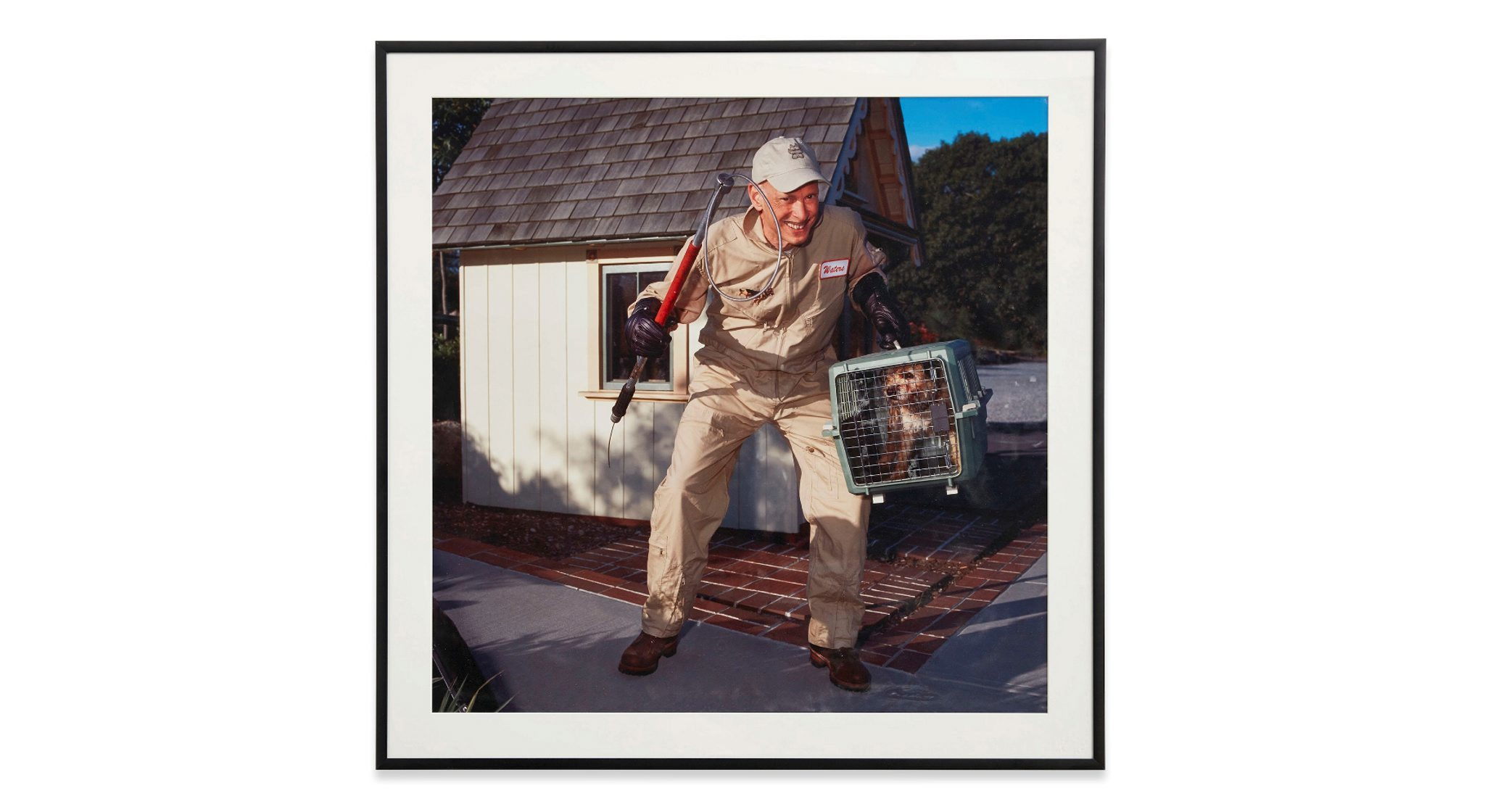 'Self Portrait #5 (Dog Catcher)', 2012